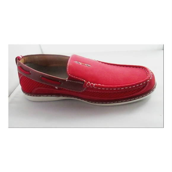 e12d60437ccf Brix Other - Brix Conley Mens Red Boat Shoes Loafers 9.5